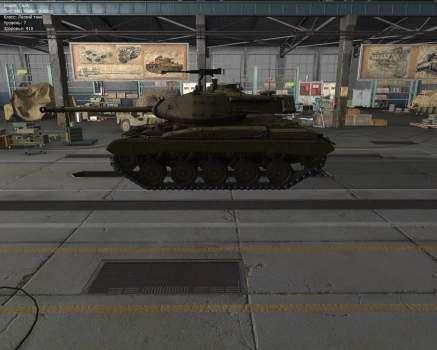 M41 Walker Bulldog — американский ЛТ 7 уровня